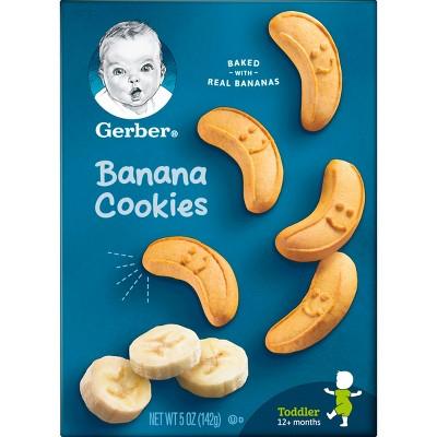 Baby & Toddler Snacks: Gerber Cookies