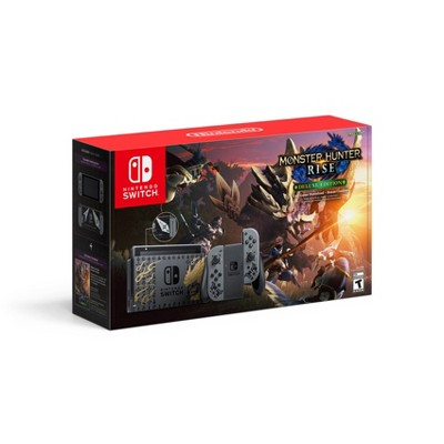 Nintendo Switch Monster Hunter Rise Deluxe Edition Console