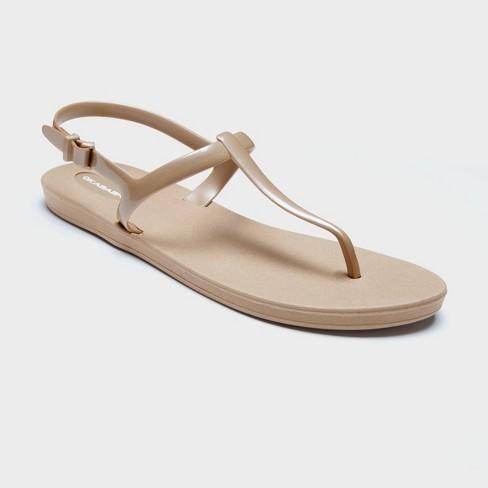 Women's Path Sustainable T Strap Sandals - Okabashi - image 1 of 3