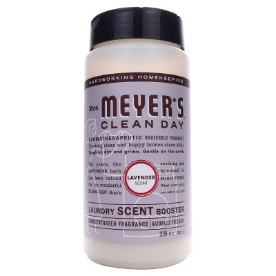 Mrs. Meyer's Clean Day Laundry Scent Booster Lavender Scent - 18 fl oz