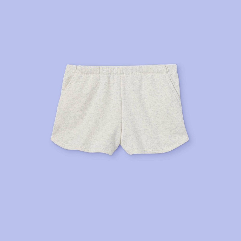 Girls 39 French Terry Shorts More Than Magic 8482 Light Gray S