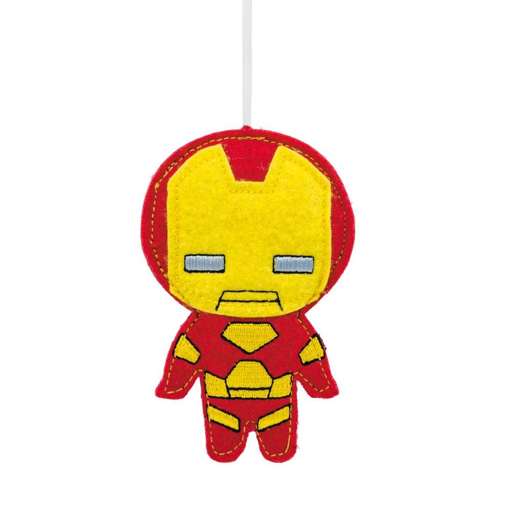Hallmark Iron Man Felt Christmas Ornament, Multi-Colored