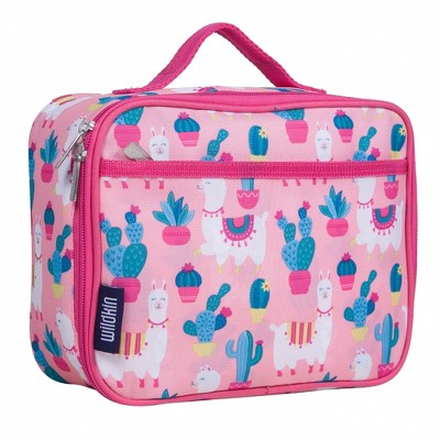 Wildkin Llamas and Cactus Pink Lunch Box