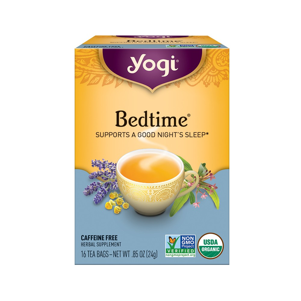 Yogi Bedtime Tea - 16ct, Teas