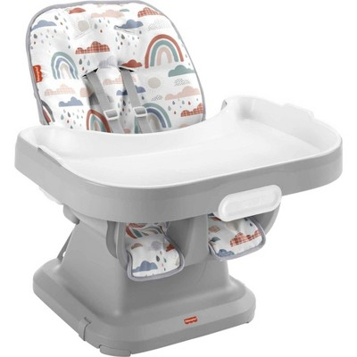 Fisher-Price SpaceSaver Simple Clean High Chair - Rainbow Showers