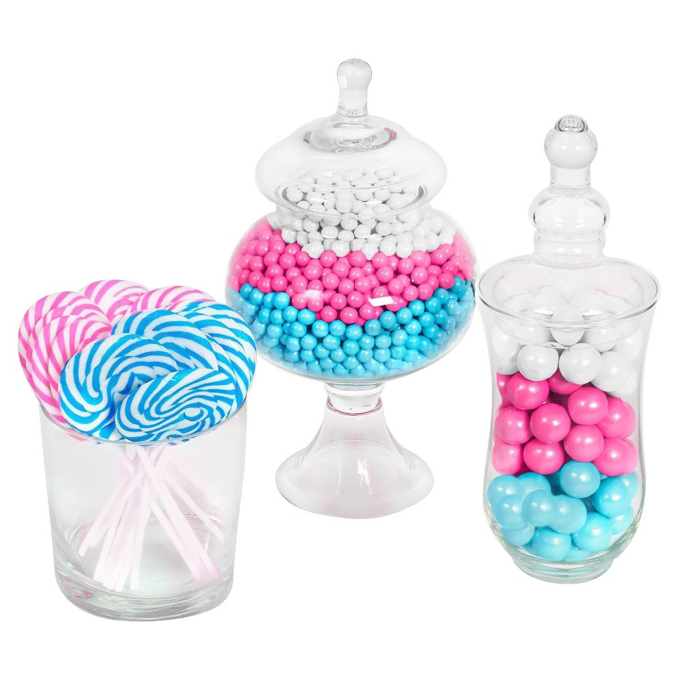 Pink, Blue & White Gender Reveal Candy Kit