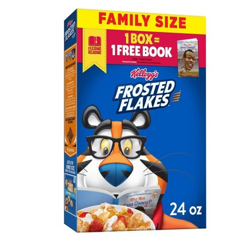 Frosted Flakes Breakfast Cereal - 24oz - Kellogg's - image 1 of 4