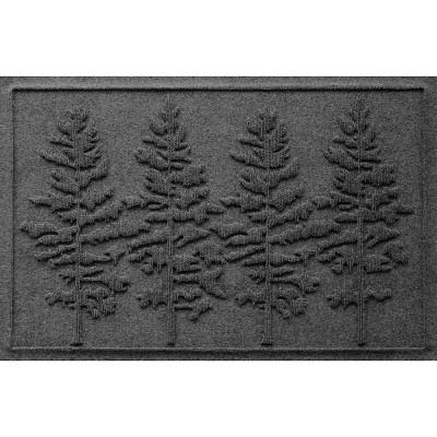 2'x3' Aqua Shield Fir Tree Indoor/Outdoor Doormat - Bungalow Flooring