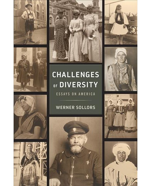 Challenges of Diversity : Essays on America (Paperback) (Werner Sollors) - image 1 of 1