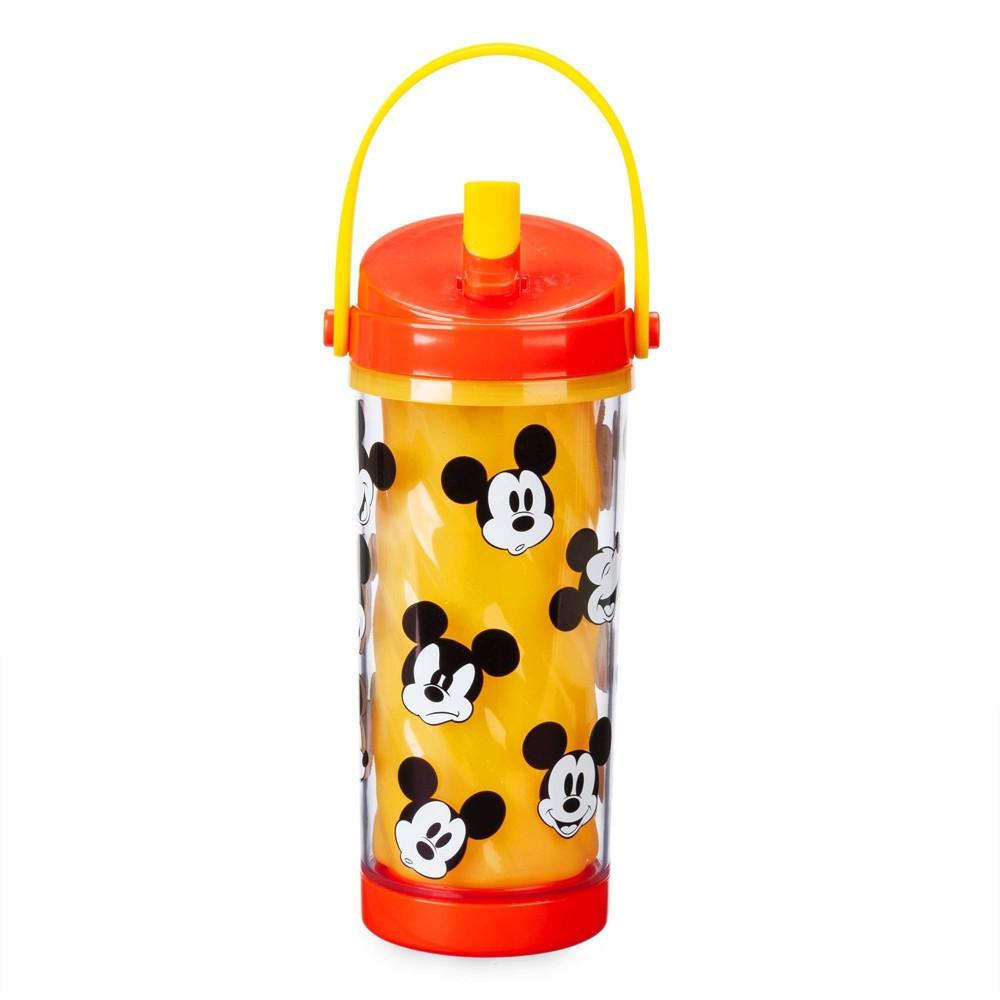 Image of Disney Mickey 10.8oz Plastic Color Change Water Bottle - Disney Store