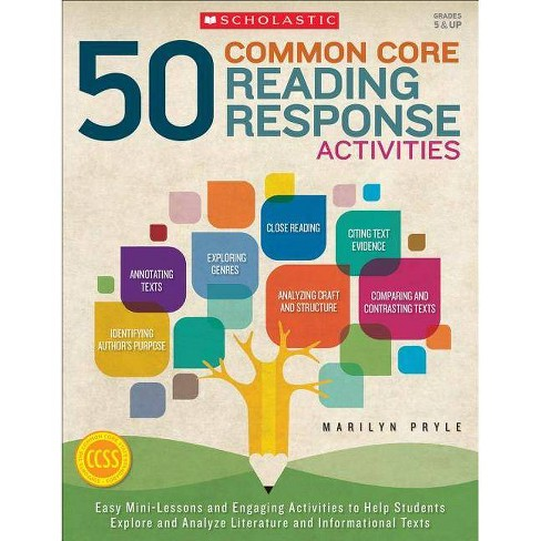 50 Common Core Reading Response Activities, Grades 5 & Up - by  Marilyn Pryle (Paperback) - image 1 of 1