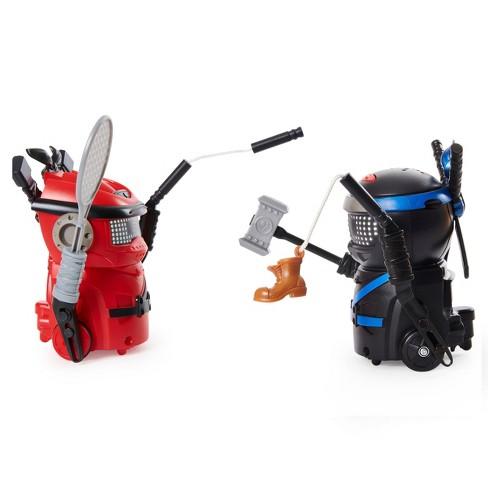 Ninja Bots Battling Robots with 6 Weapons  - 2pk - image 1 of 4