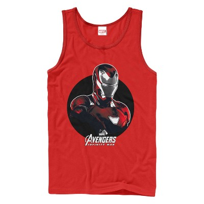 Men's Marvel Avengers: Avengers: Infinity War Iron Man Circle Tank Top