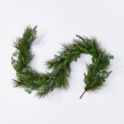 Pine and Eucalytus Garland - Threshold™ designed with Studio McGee - image 1 of 4