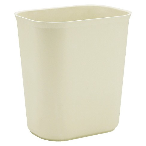 Rubbermaid® 3.5 Gallon No-Lid Trash - Beige - image 1 of 1