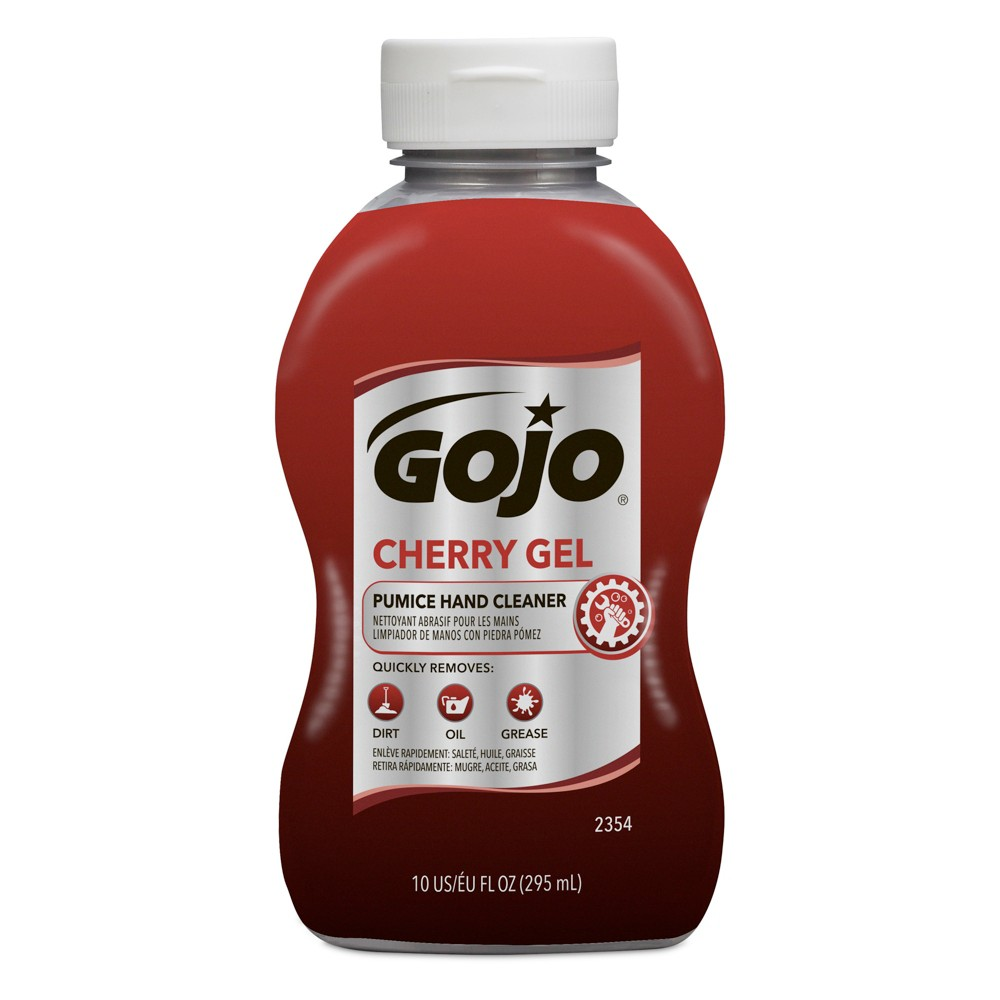 Image of Gojo Cherry Gel Pumice Hand Cleaner - 10 fl oz