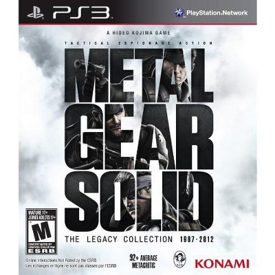 Metal Gear Solid: The Legacy Collection no Artbook - Playstation 3