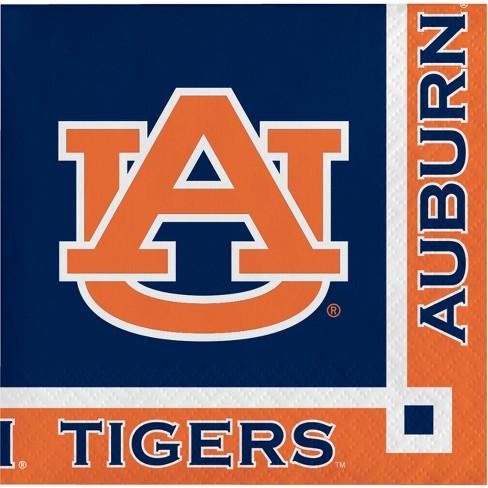 20ct Auburn Tigers Beverage Napkins - image 1 of 3