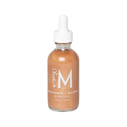 Olive + M Shimmer + Glow Body Oil - 2 fl oz