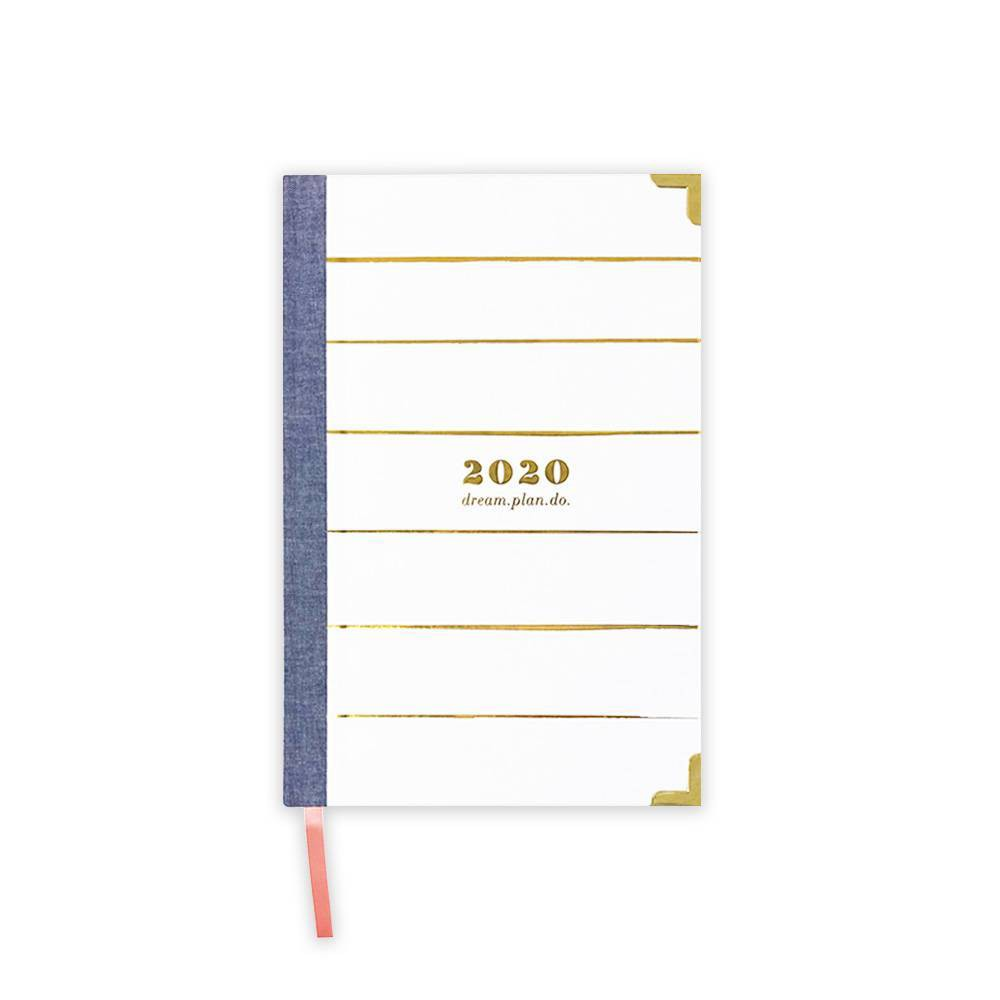 "Image of ""2020 Planner 6"""" x 9"""" Paint Stripe - lake + loft"""
