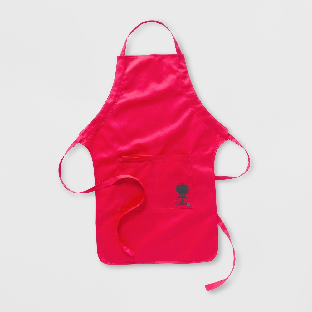 Image of Weber BBQ Apron - Red, Cooking Apron