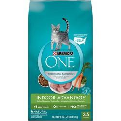 Purina ONE Indoor Advantage Adult Premium Dry Cat Food
