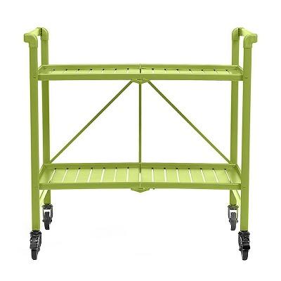 Cosco Indoor - Outdoor Folding Serving Cart - Apple Green
