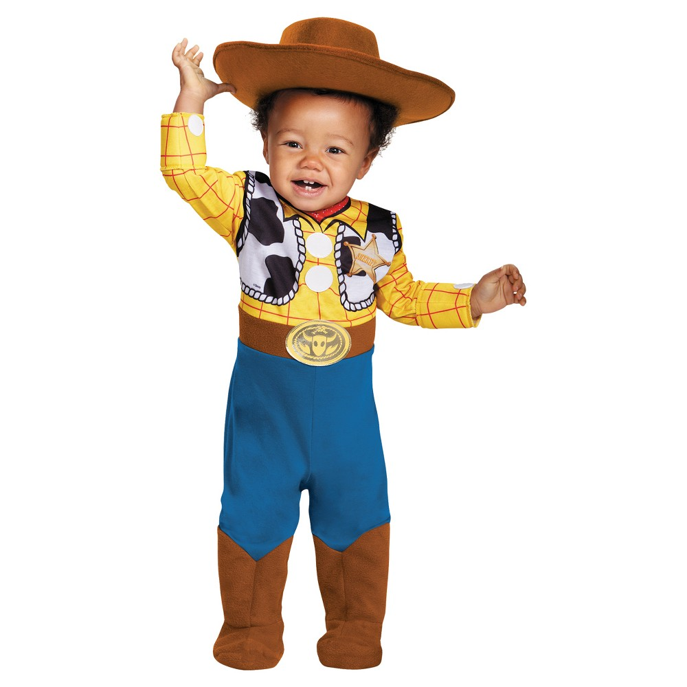Baby Boys' Woody Deluxe Costume 12-18M - Disguise, Multi-Colored
