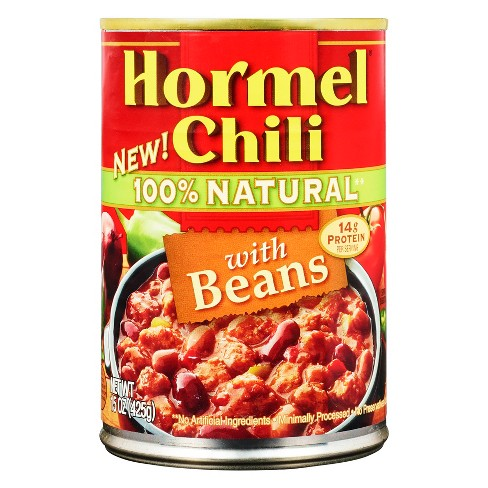 Hormel Chili 100% Natural with Beans - 15oz - image 1 of 2