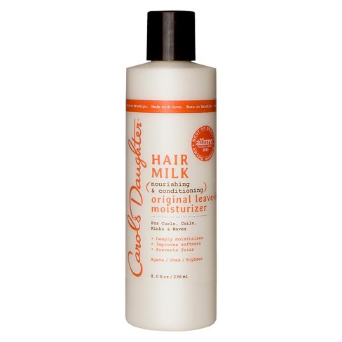 Carol's Daughter Hair Milk Nourishing and Conditioning Original Leave-In Moisturizer - 8.0 fl oz - image 1 of 3