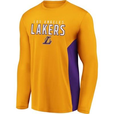 NBA Los Angeles Lakers Men's Synthetic Long Sleeve T-Shirt