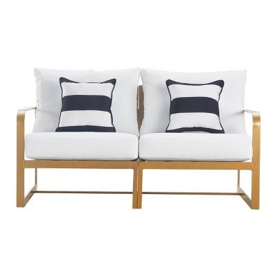 Mirabelle Outdoor Sofa  - Gold - Adore Decor
