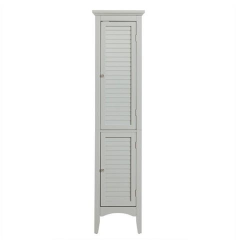"""Glancy Linen Tower 63"""" Gray - Elegant Home Fashions - image 1 of 4"""