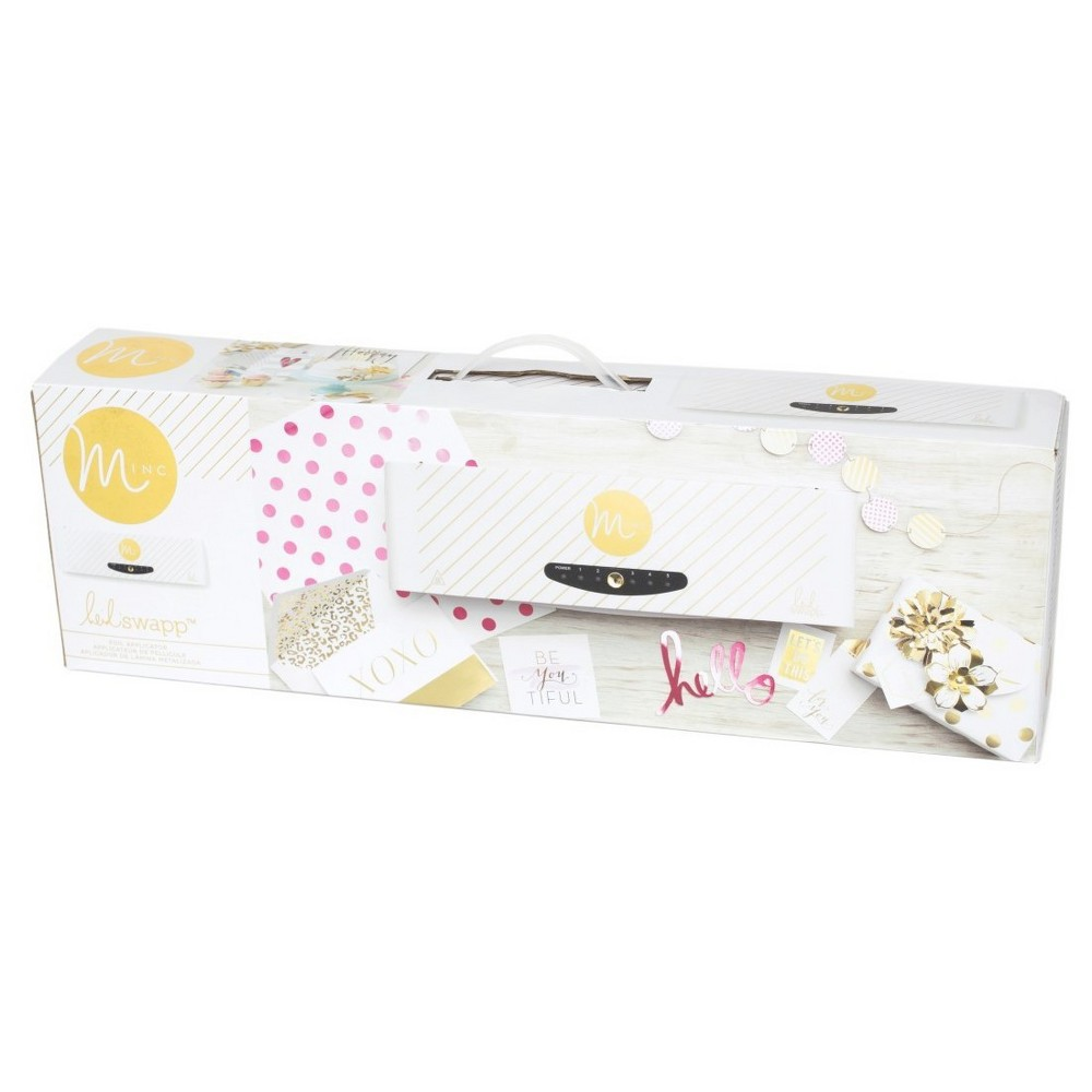Image of Minc Foil Applicator & Starter Kit - Heidi Swapp, White