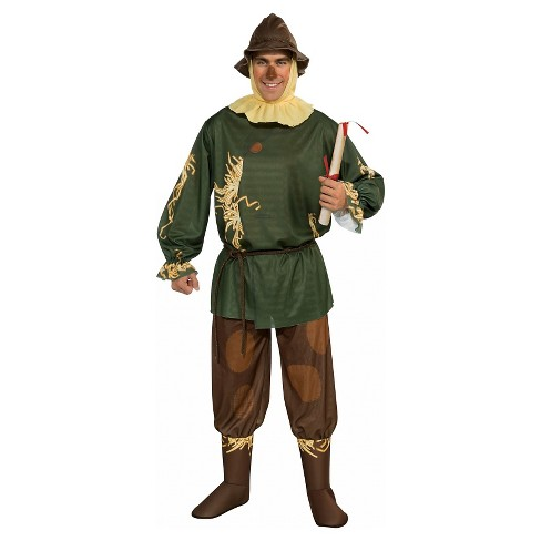 The Wizard of Oz Scarecrow Men's Adult Costume - One Size Fits Most - image 1 of 1