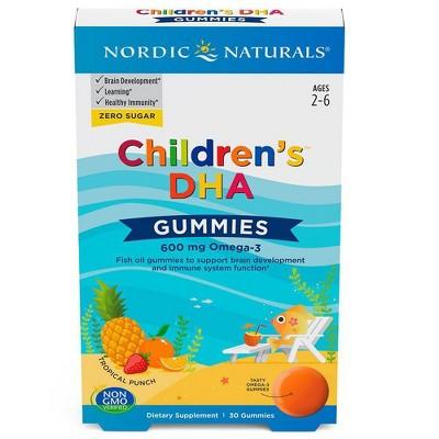 Nordic Naturals Children's DHA Gummies Dietary Supplement - 30ct