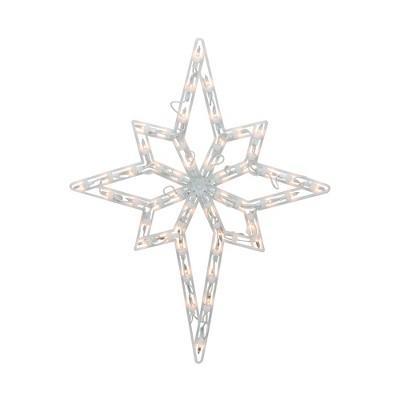 "Northlight 18"" Lighted Star of Bethlehem Christmas Window Silhouette Decoration"