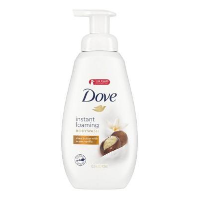 Dove Shea Butter & Warm Vanilla Shower Foam Body Wash - 13.5 fl oz