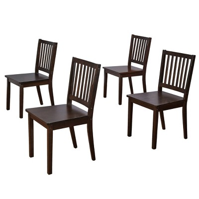 4pc Shaker Dining Chairs - Buylateral