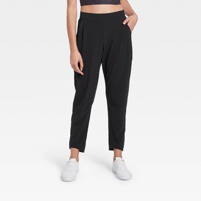 Women's High-Waisted Stretch Woven Tapered Jogger Pants - All in Motion™