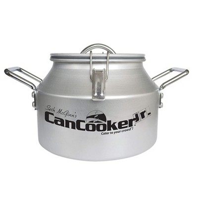 CanCooker JR Companion Outdoor or In Home Stove Convection 2 Gallon Steam Cooker for Indoor or Outdoor Use, Feeds up to 10 People