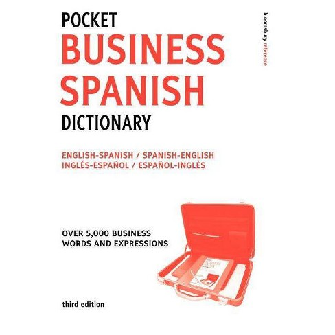 Pocket Business Spanish Dictionary 2ed - (Paperback) - image 1 of 1