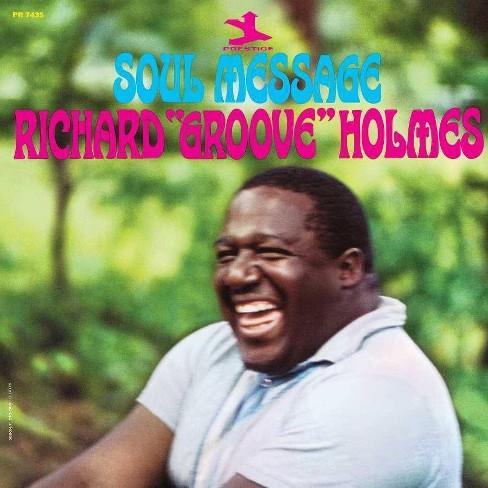 "Richard ""Groove"" Holmes - Soul Message (Vinyl) - image 1 of 1"