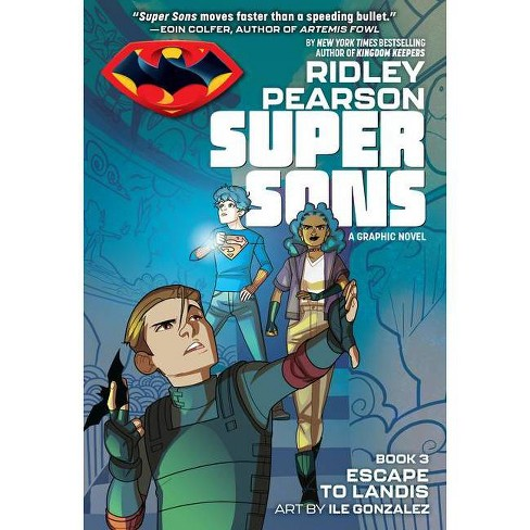 Super Sons: Escape to Landis - by  Ridley Pearson (Paperback) - image 1 of 1