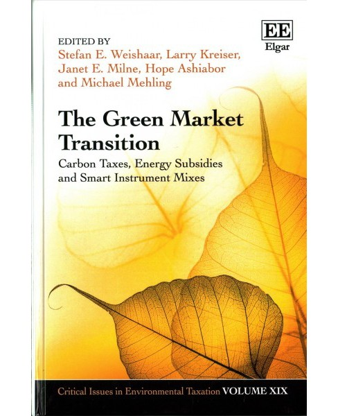 Green Market Transition : Carbon Taxes, Energy Subsidies and Smart Instrument Mixes (Hardcover) - image 1 of 1