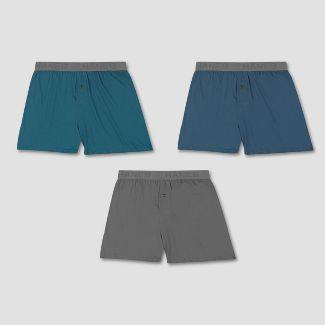 Hanes Premium Men's Cotton Modal Boxer Shorts 3pk - Colors May Vary XL