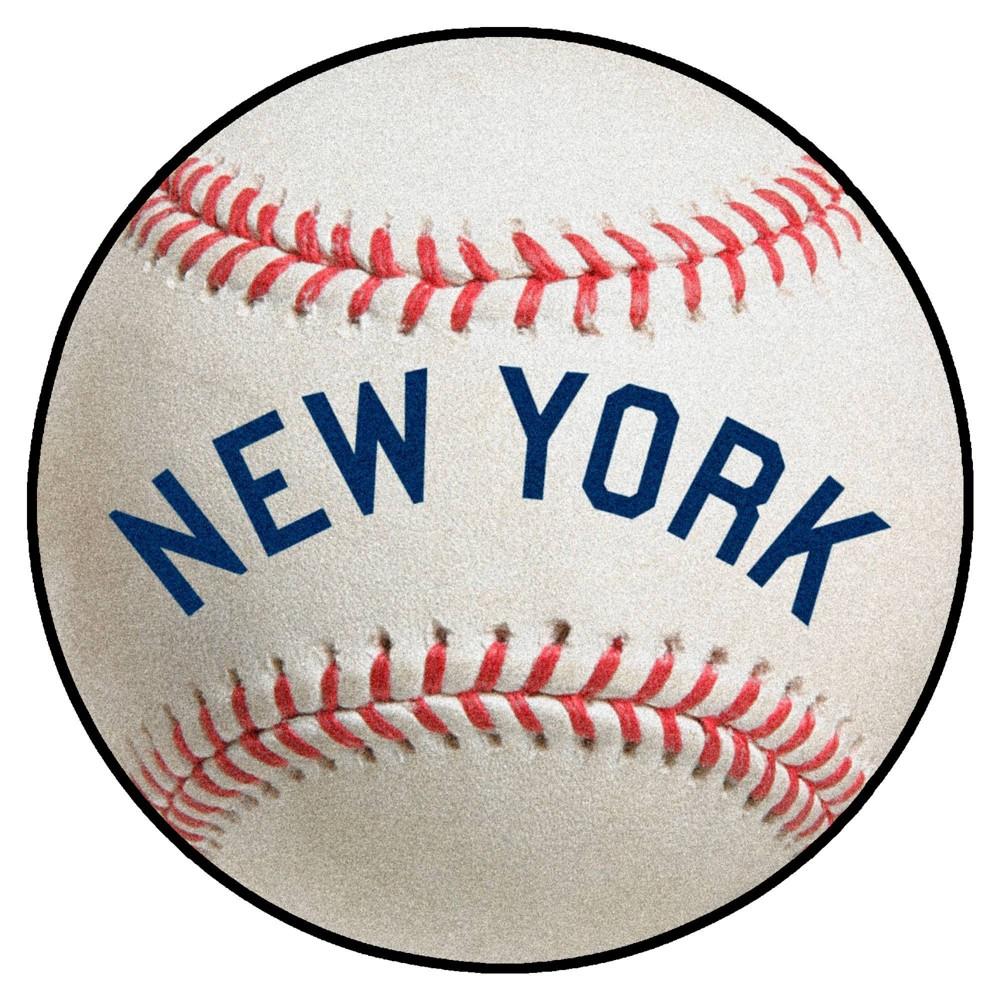 Mlb New York Yankees 27 34 X27 34 Retro Baseball Mat