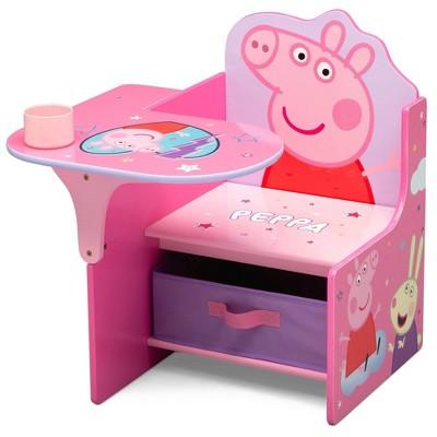 Peppa Pig Chair Desk with Storage Bin - Delta Children