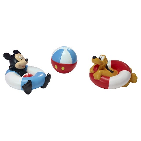 Disney Mickey Mouse Squirtee Toys 3pk - image 1 of 3