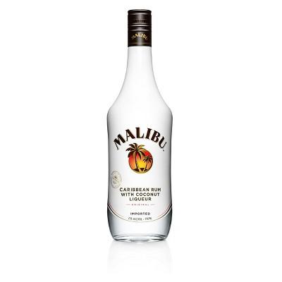 Malibu Coconut Caribbean Rum - 750ml Bottle